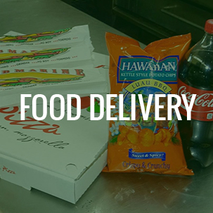 Food Delivery Hover